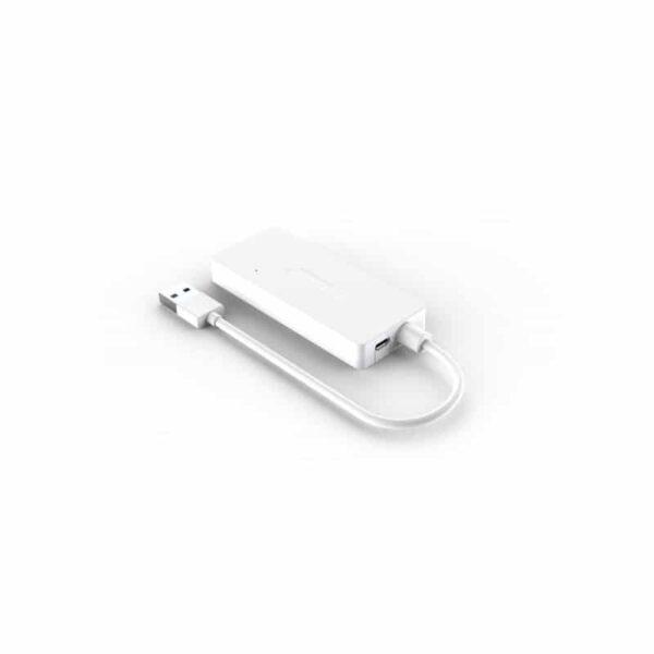 40455 - Активный USB-хаб для зарядки и передачи данных ORICO HS4U-U3: 4 USB 3.0 порта, поддержка внешнего источника питания 5В