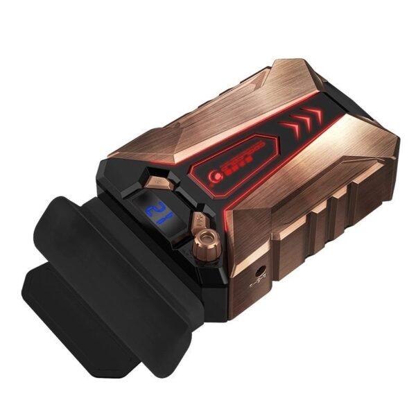40483 - Мощный внешний вентилятор для ноутбука Ice Troll 7 COOLCOLD с питанием от сети AC220В: выбор скорости, ЖК с подсветкой