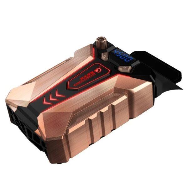 40485 - Мощный внешний вентилятор для ноутбука Ice Troll 7 COOLCOLD с питанием от сети AC220В: выбор скорости, ЖК с подсветкой