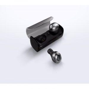 Беспроводные Bluetooth-наушники QCY Q29 с боксом-зарядкой и микрофонами в каждом ухе: 220 мАч+40 мАч каждое ухо