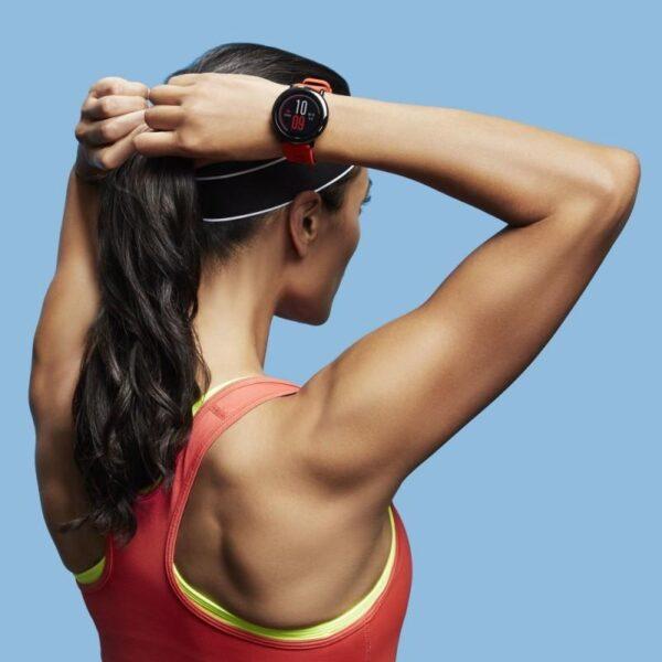 40545 - Спортивные смарт-часы Xiaomi HUAMI AMAZFIT Pace: 1,34´´ экран, шагомер, пульсометр, GPS, Bluetooth, IP67, Strava, 4Гб память