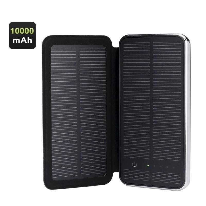 Внешний аккумулятор RIPA C-G736 с солнечной панелью – 5В 3Вт, 10000 мАч, 2x USB
