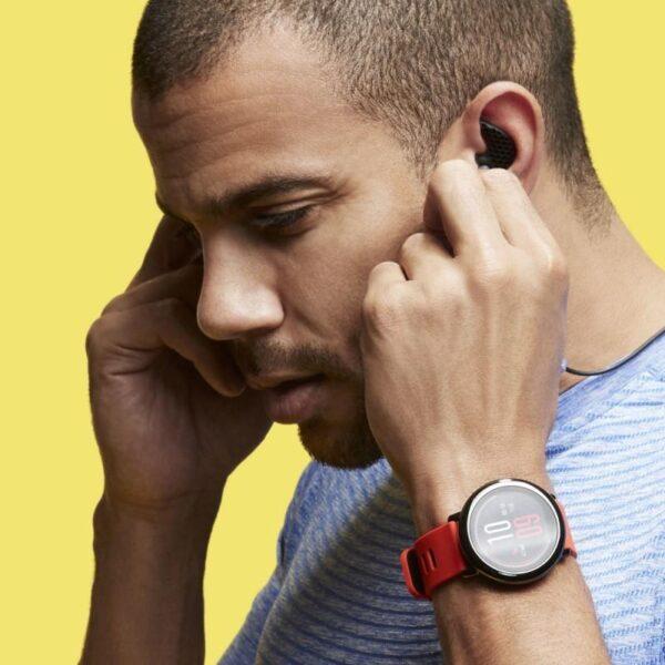 40554 - Спортивные смарт-часы Xiaomi HUAMI AMAZFIT Pace: 1,34´´ экран, шагомер, пульсометр, GPS, Bluetooth, IP67, Strava, 4Гб память