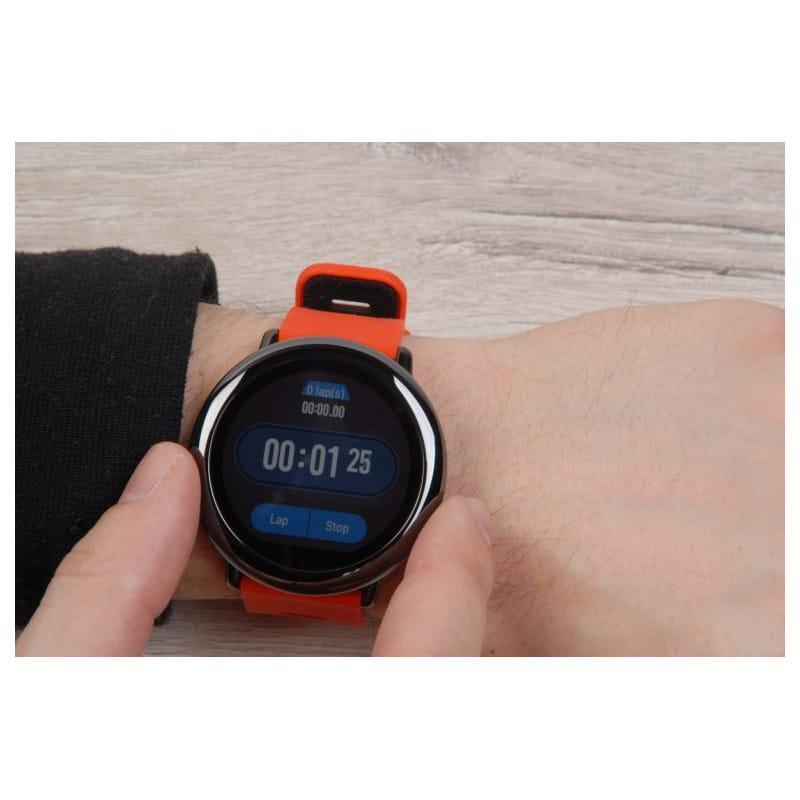 Спортивные смарт-часы Xiaomi HUAMI AMAZFIT Pace: 1,34´´ экран, шагомер, пульсометр, GPS, Bluetooth, IP67, Strava, 4Гб память 216005