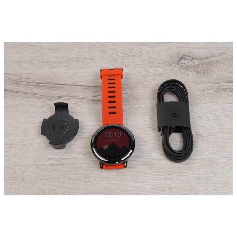 Спортивные смарт-часы Xiaomi HUAMI AMAZFIT Pace: 1,34´´ экран, шагомер, пульсометр, GPS, Bluetooth, IP67, Strava, 4Гб память 216007