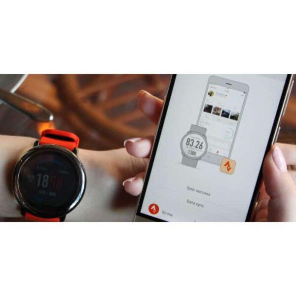 40571 - Спортивные смарт-часы Xiaomi HUAMI AMAZFIT Pace: 1,34´´ экран, шагомер, пульсометр, GPS, Bluetooth, IP67, Strava, 4Гб память