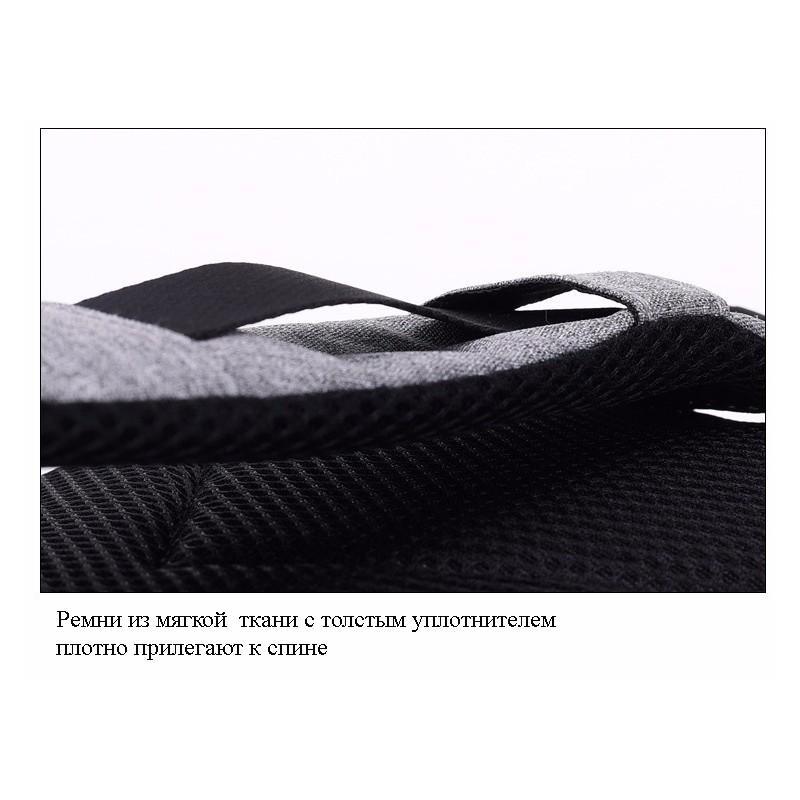Городской рюкзак-антивор Bobby Mini с защитой от карманников и USB-портом для зарядки: водонепроницаемый, защита от порезов 216019