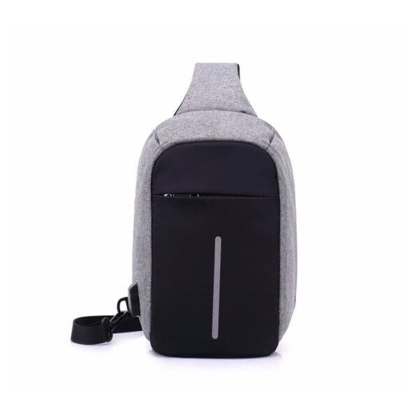 40580 - Городской рюкзак-антивор Bobby Mini с защитой от карманников и USB-портом для зарядки: водонепроницаемый, защита от порезов