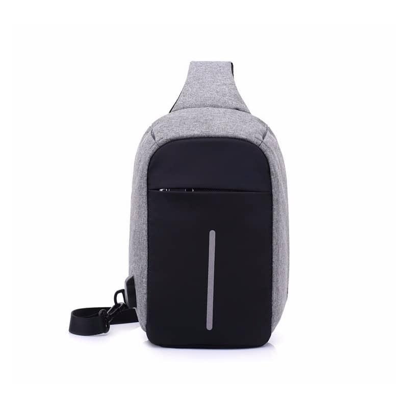 Городской рюкзак-антивор Bobby Mini с защитой от карманников и USB-портом для зарядки: водонепроницаемый, защита от порезов 216024