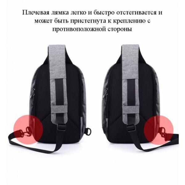 40592 - Городской рюкзак-антивор Bobby Mini с защитой от карманников и USB-портом для зарядки: водонепроницаемый, защита от порезов