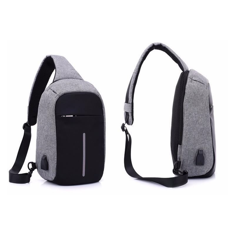 Городской рюкзак-антивор Bobby Mini с защитой от карманников и USB-портом для зарядки: водонепроницаемый, защита от порезов 216044