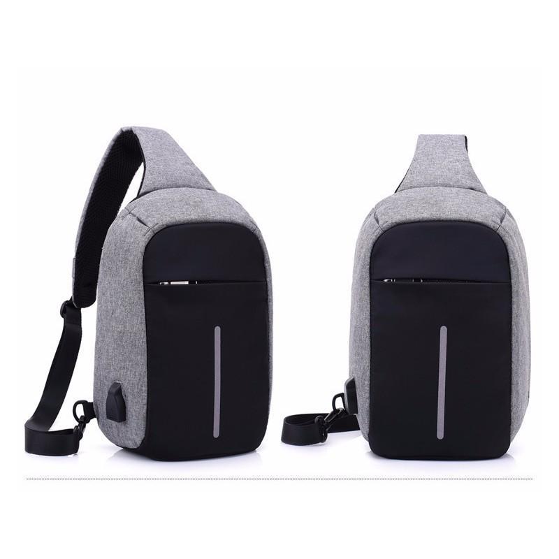 40604 - Городской рюкзак-антивор Bobby Mini с защитой от карманников и USB-портом для зарядки: водонепроницаемый, защита от порезов