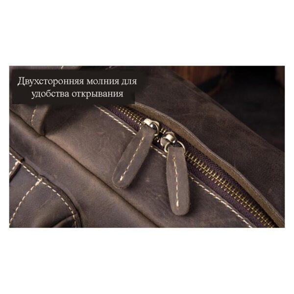 40610 - Рюкзак Mantime May из натуральной кожи Crazy Horse (первый слой)