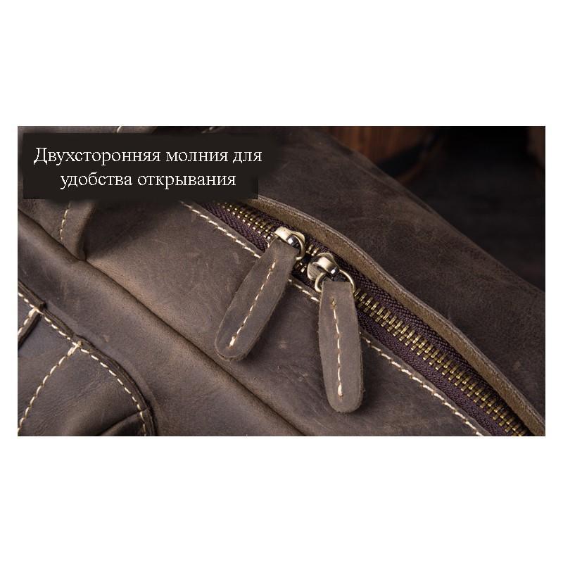 Рюкзак Mantime May из натуральной кожи Crazy Horse (первый слой) 216051