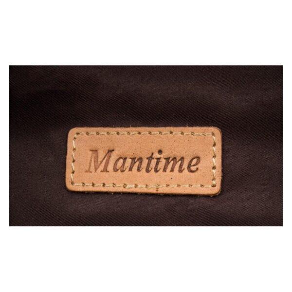 40623 - Рюкзак Mantime May из натуральной кожи Crazy Horse (первый слой)