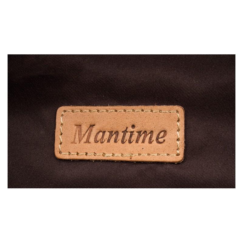 Рюкзак Mantime May из натуральной кожи Crazy Horse (первый слой) 216064