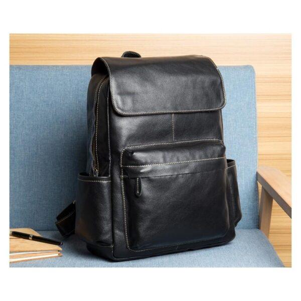 40633 - Рюкзак Mantime May из натуральной кожи Crazy Horse (первый слой)