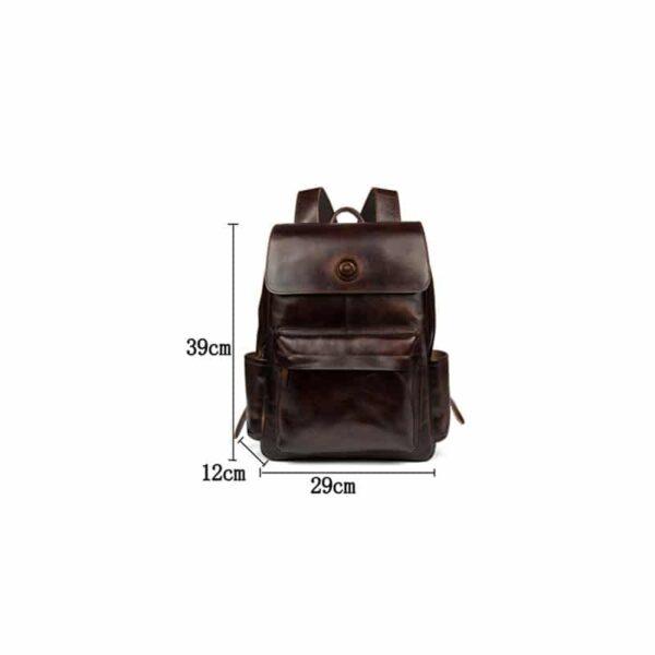 40636 - Рюкзак Mantime May из натуральной кожи Crazy Horse (первый слой)