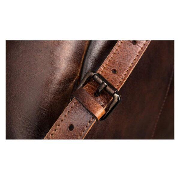 40647 - Рюкзак Mantime May из натуральной кожи Crazy Horse (первый слой)