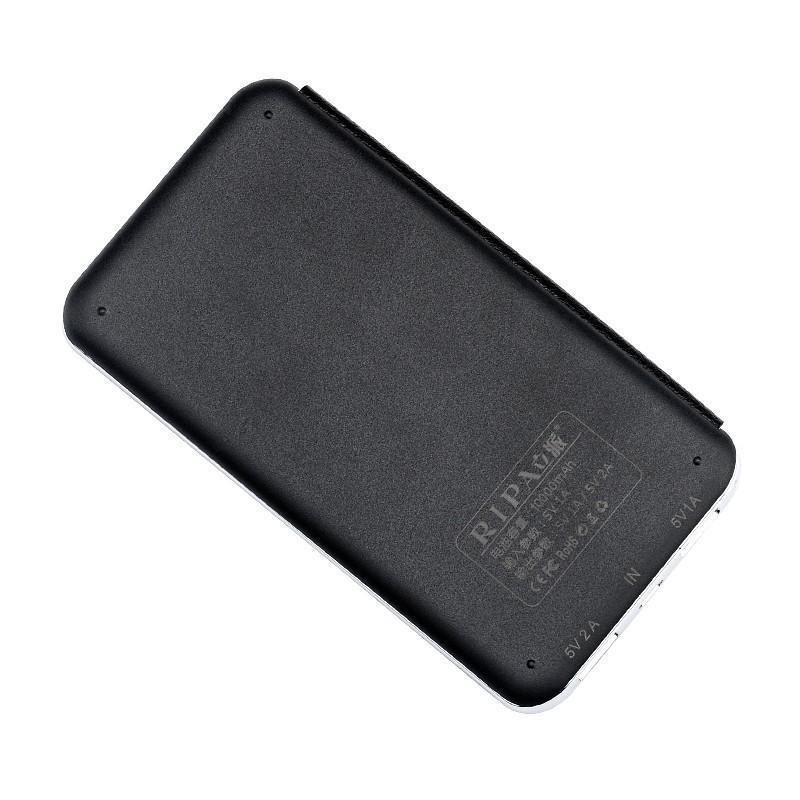 Внешний аккумулятор RIPA C-G736 с солнечной панелью – 5В 3Вт, 10000 мАч, 2x USB 183548