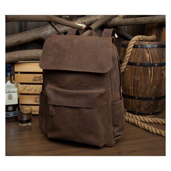 40650 - Рюкзак Mantime May из натуральной кожи Crazy Horse (первый слой)