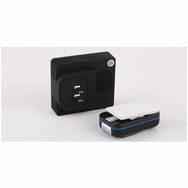 40682 - Беспроводной дверной звонок YIROKA A-289 (черный): 48 мелодий, 4 уровня громкости, 260 м диапазон
