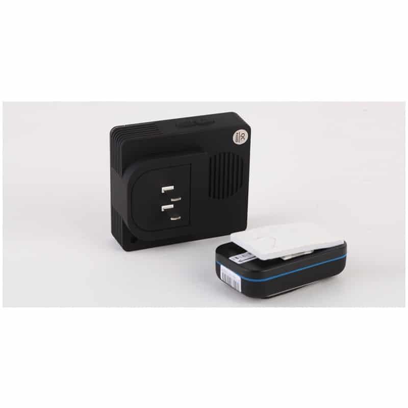 Беспроводной дверной звонок YIROKA A-289 (черный): 48 мелодий, 4 уровня громкости, 260 м диапазон 216119