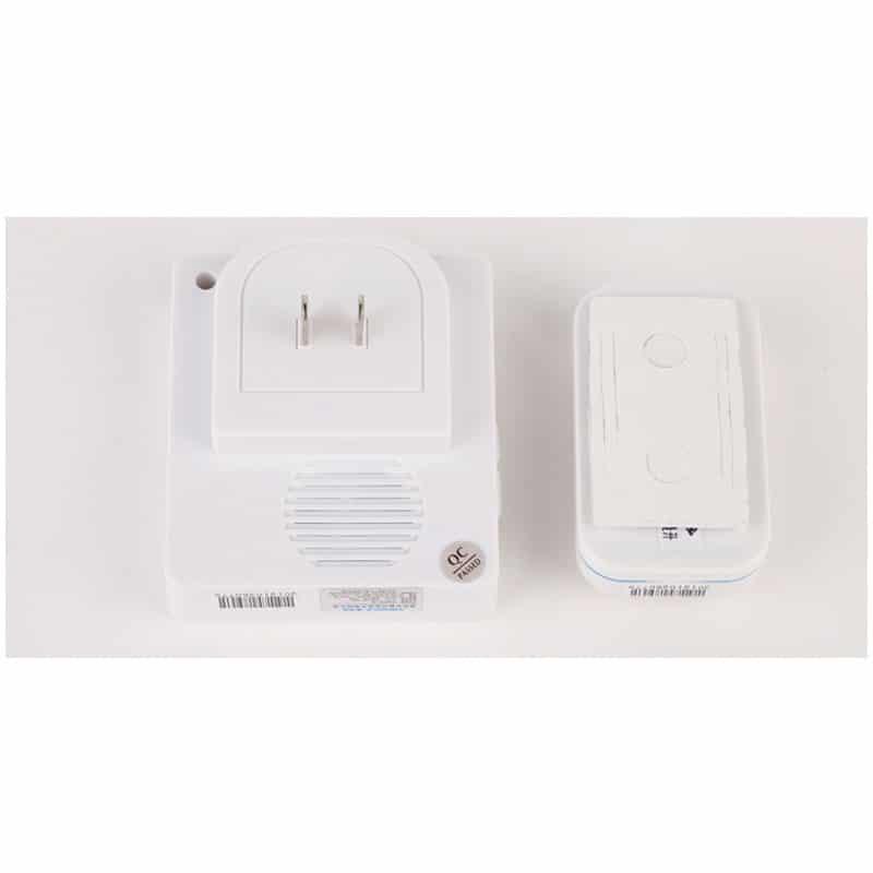 Беспроводной дверной звонок YIROKA A-289 (белый): 48 мелодий, 4 уровня громкости, 260 м диапазон 216151