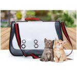 40779 thickbox default - Прозрачная сумка-переноска Pet Travel для собак, кошек и других питомцев: размеры S, M, L, до 30 кг веса