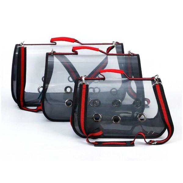 40785 - Прозрачная сумка-переноска Pet Travel для собак, кошек и других питомцев: размеры S, M, L, до 30 кг веса