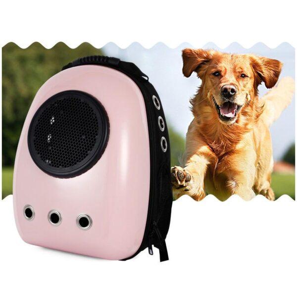 41017 - Рюкзак-переноска с иллюминатором для кота, собаки Space Pets Bubble Backpack