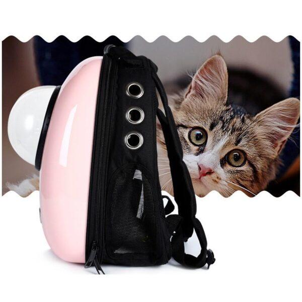 41018 - Рюкзак-переноска с иллюминатором для кота, собаки Space Pets Bubble Backpack