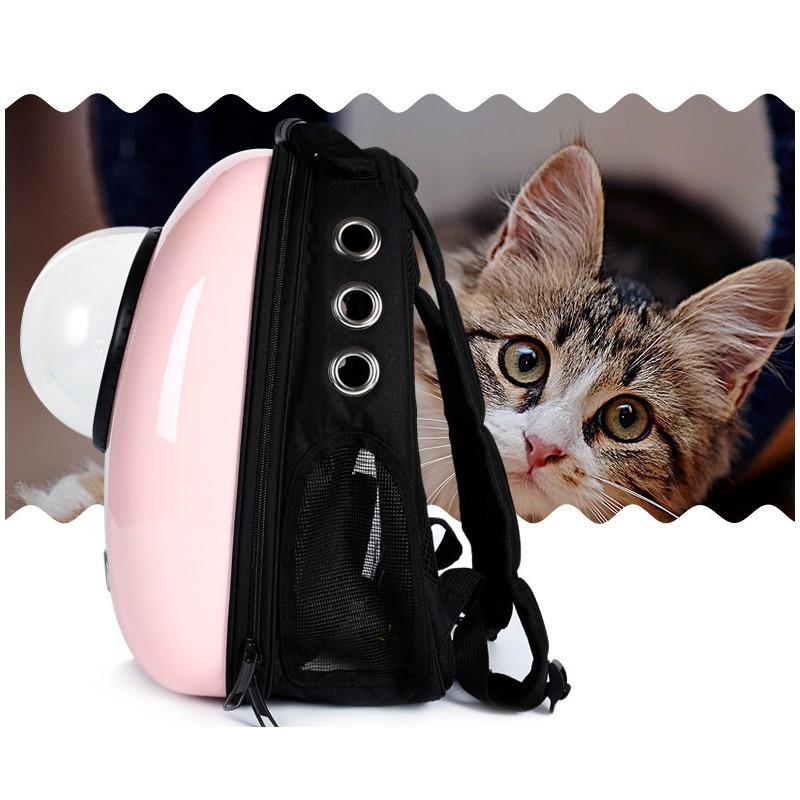 Рюкзак-переноска с иллюминатором для кота, собаки Space Pets Bubble Backpack 216371