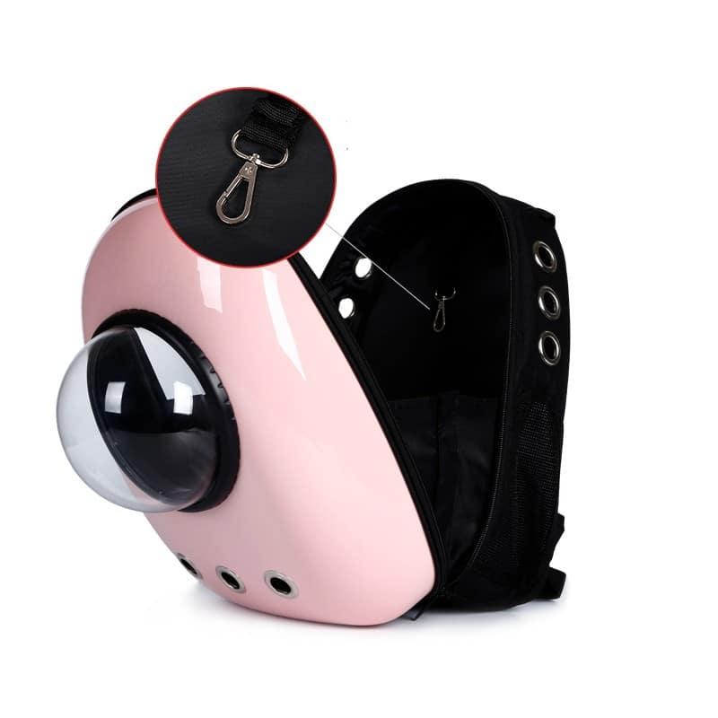 Рюкзак-переноска с иллюминатором для кота, собаки Space Pets Bubble Backpack 216372