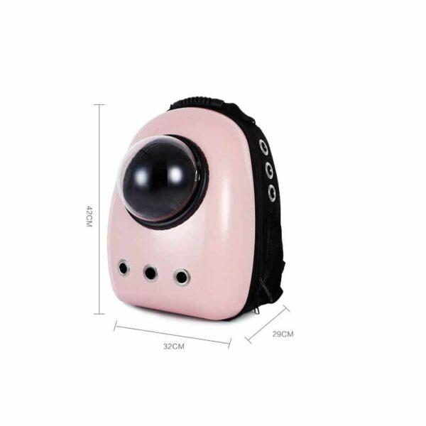 41022 - Рюкзак-переноска с иллюминатором для кота, собаки Space Pets Bubble Backpack