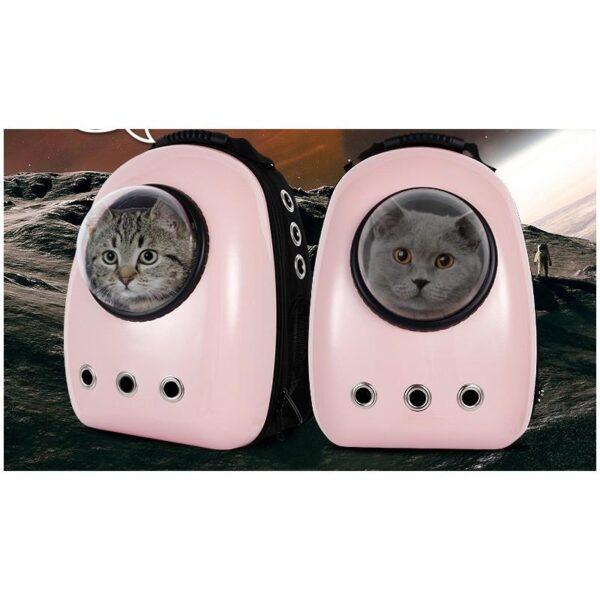 41023 - Рюкзак-переноска с иллюминатором для кота, собаки Space Pets Bubble Backpack