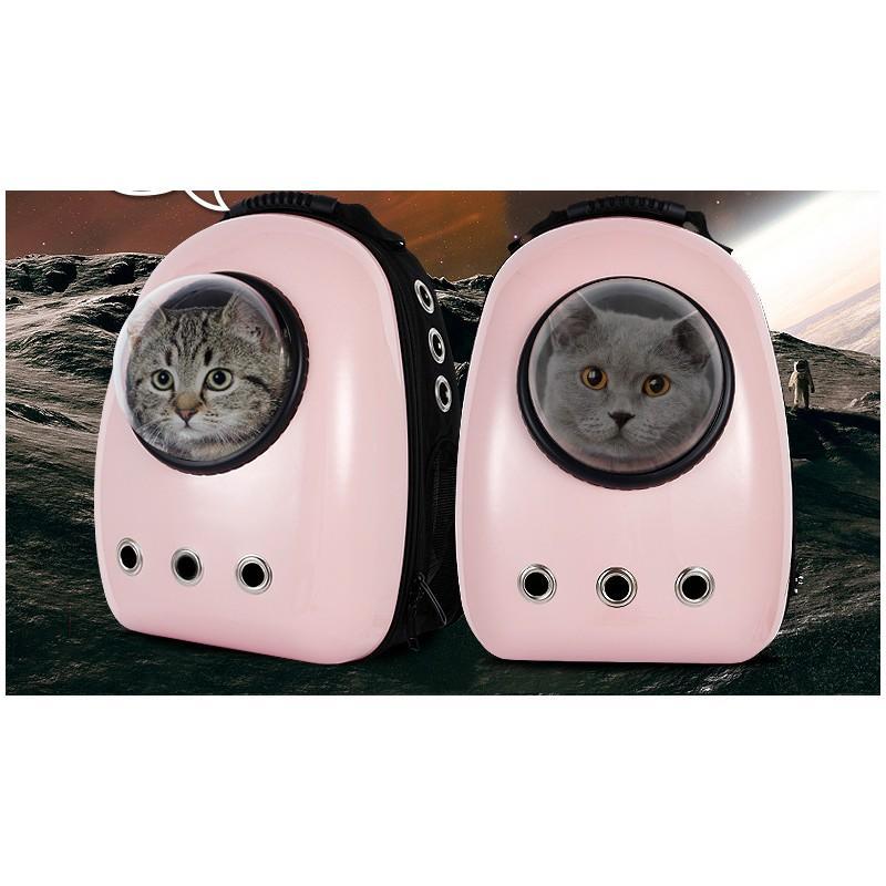 Рюкзак-переноска с иллюминатором для кота, собаки Space Pets Bubble Backpack 216376