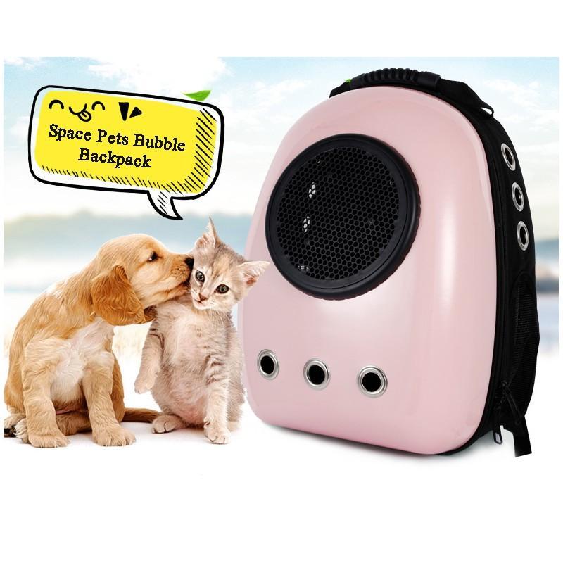Рюкзак-переноска с иллюминатором для кота, собаки Space Pets Bubble Backpack 216378