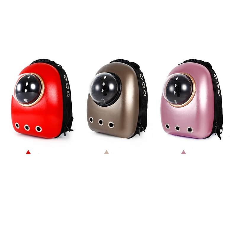 Рюкзак-переноска с иллюминатором для кота, собаки Space Pets Bubble Backpack 216379