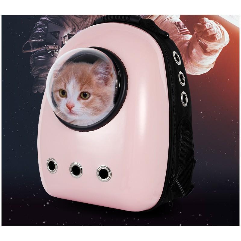 Рюкзак-переноска с иллюминатором для кота, собаки Space Pets Bubble Backpack