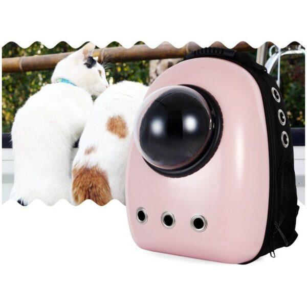 41029 - Рюкзак-переноска с иллюминатором для кота, собаки Space Pets Bubble Backpack
