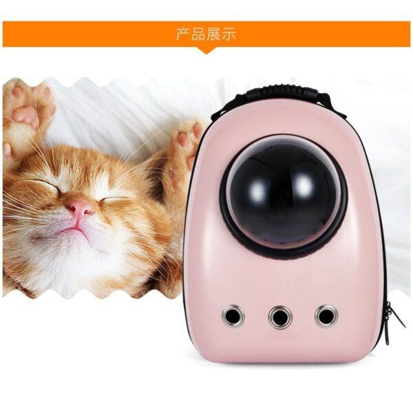 41030 - Рюкзак-переноска с иллюминатором для кота, собаки Space Pets Bubble Backpack