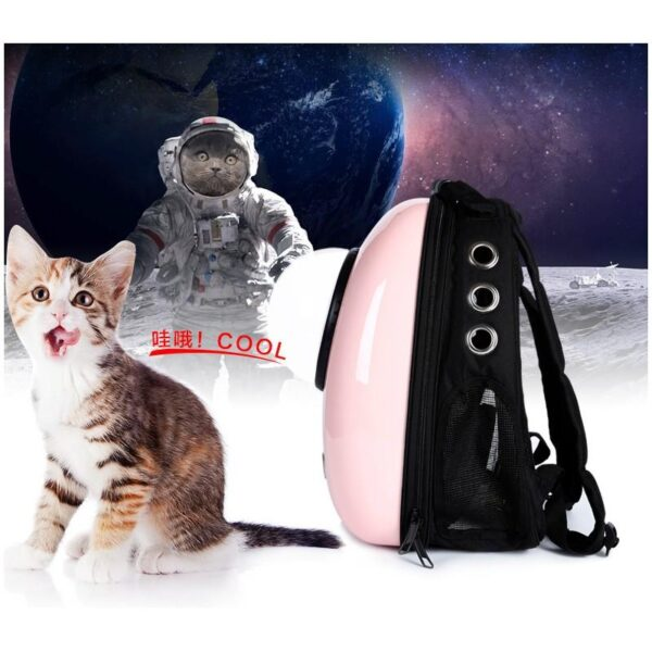 41032 - Рюкзак-переноска с иллюминатором для кота, собаки Space Pets Bubble Backpack