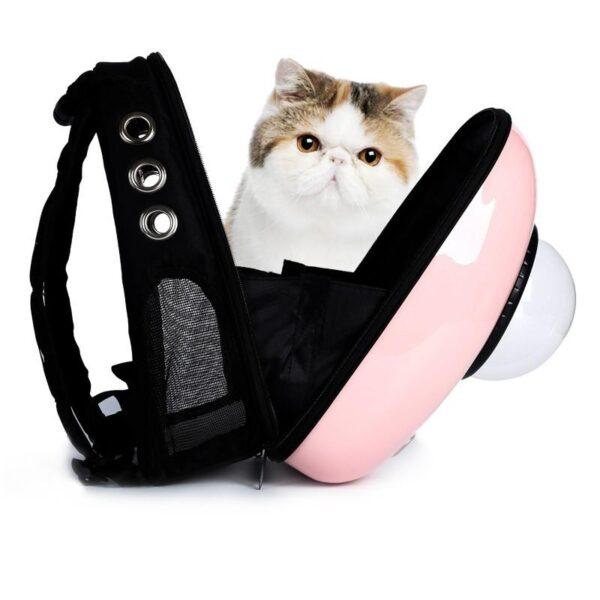 41034 - Рюкзак-переноска с иллюминатором для кота, собаки Space Pets Bubble Backpack