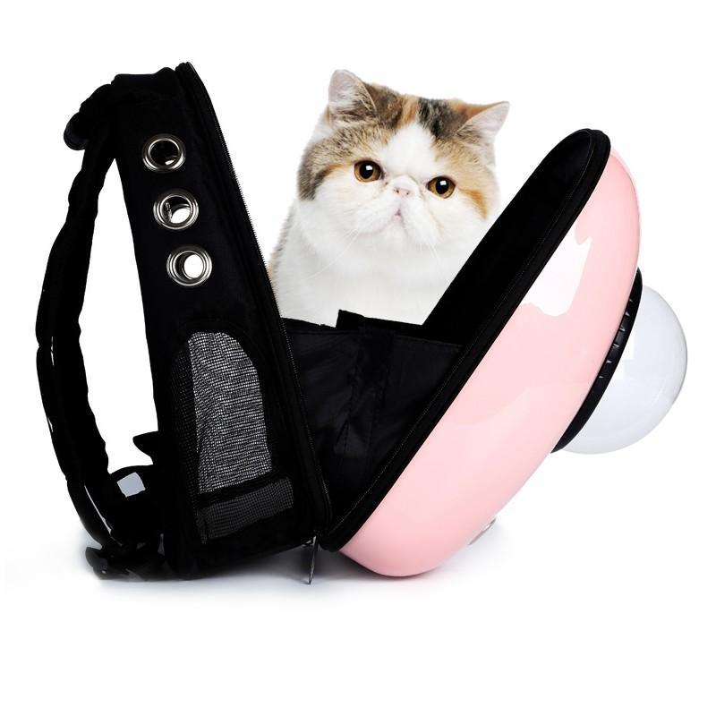 Рюкзак-переноска с иллюминатором для кота, собаки Space Pets Bubble Backpack 216386