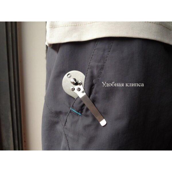 41047 - EDC органайзер для ключей/ умная ключница ClipSmartKey с клипсой