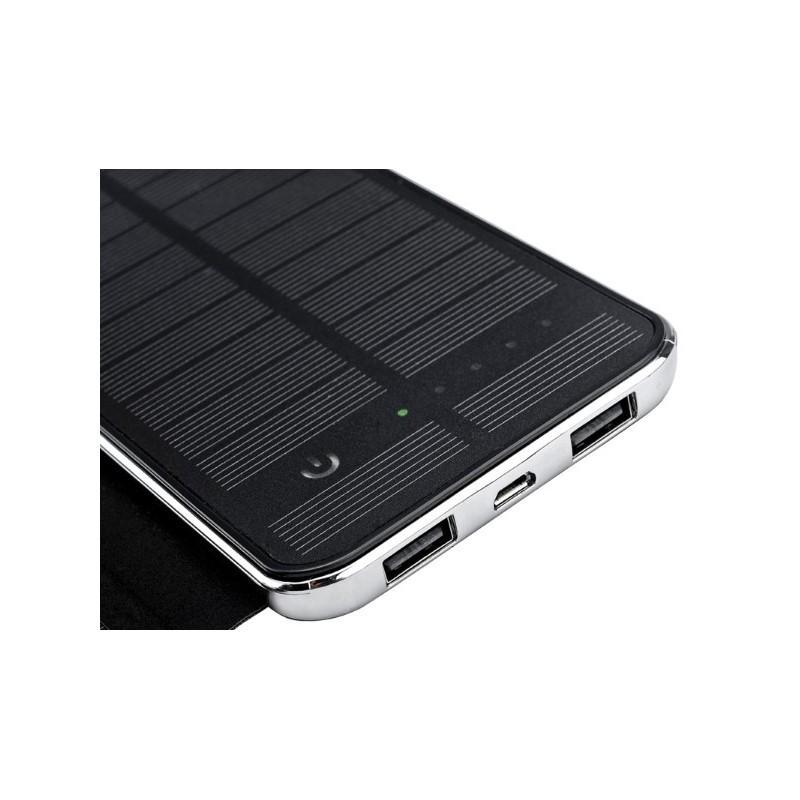 Внешний аккумулятор RIPA C-G736 с солнечной панелью – 5В 3Вт, 10000 мАч, 2x USB 183552