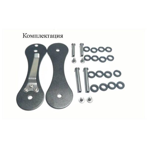 41059 - EDC органайзер для ключей/ умная ключница ClipSmartKey с клипсой