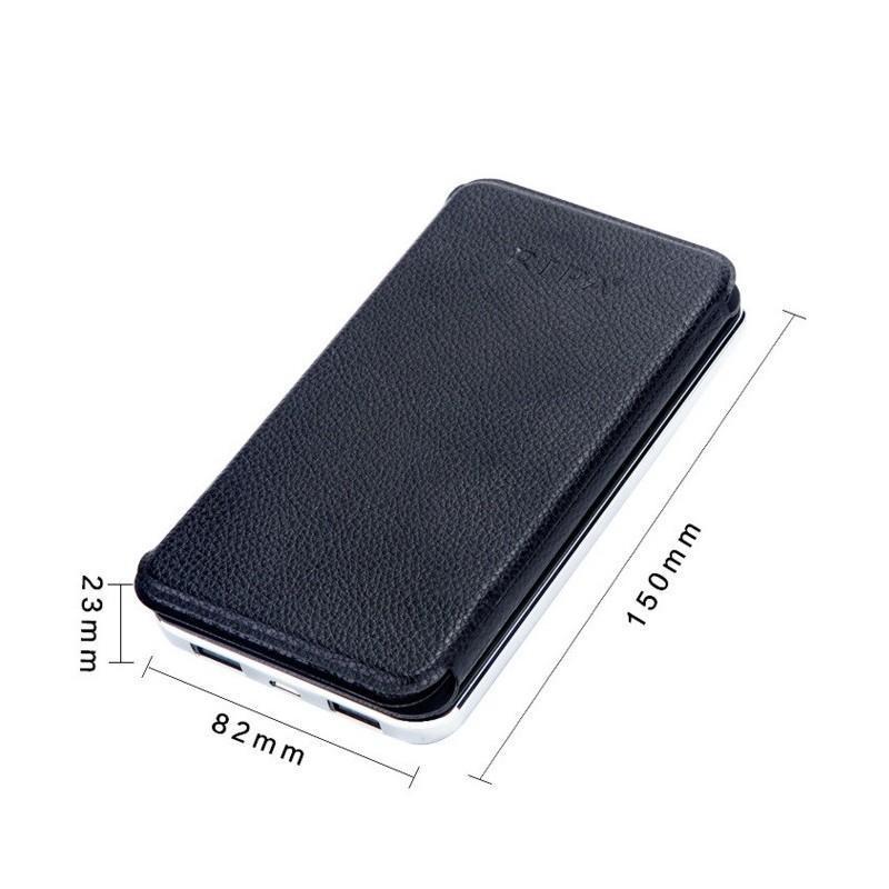 Внешний аккумулятор RIPA 10000 мАч  с солнечной панелью 6Вт, 2x USB для зарядки смартфонов и планшетов 183554