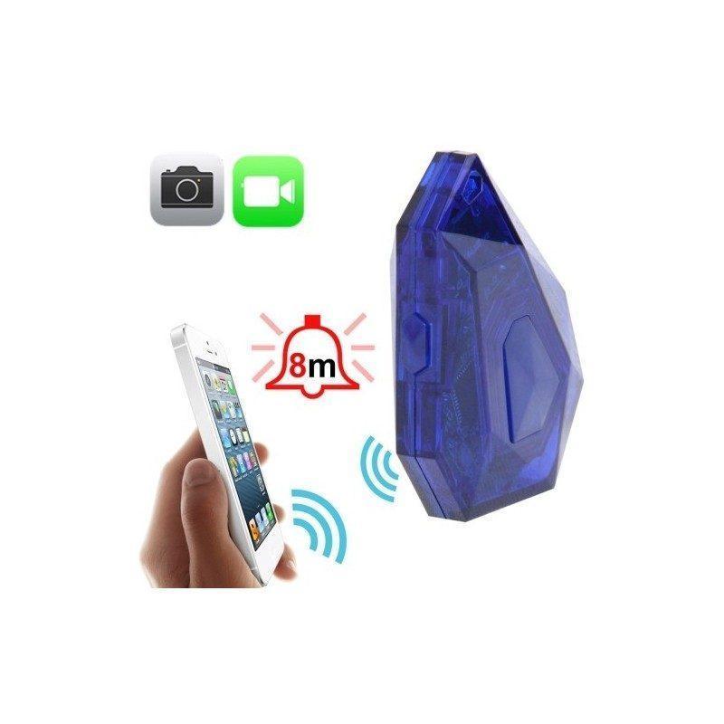 Локационный брелок с функцией поиска, anti-lost и дистанционной активацией камеры для iPhone 5, 5C, 5S, iPod 5 и iPad